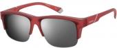 Polaroid PLD P9012/S Sonnenbrille Überbrille polarized rot