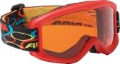 ALPINA Kinder-Skibrille CARVY 2.0 SH, rot
