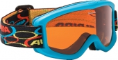 ALPINA Kinder-Skibrille CARVY 2.0 SH hellblau