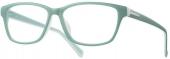 LOOK & FEEL BI 5431 Kunststoffbrille grün matt