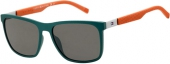 Tommy Hilfiger TH 1445/S Sonnenbrille, petrol-orange