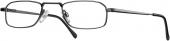 START UP basics BI 1112 Lesebrille Halbbrille anthrazit