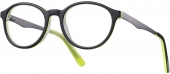 KIDS ONE BI 4281 Kinderbrille schwarz-grün