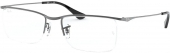 RAY-BAN RB 6370 Tragrandbrille matt-schwarz