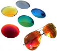 Sonnengläser mit Verspiegelung in Sehstärke/Dioptrien