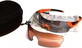 SMITH Optics PIVLOCK ARENA/N Sonnenbrille/Sportbrille mit 2 Wechselscheiben