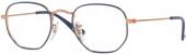 RAY-BAN RB 9541 V Jugend-/ Kinderbrille blau-kupfer