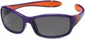 Polaroid PLD 8000/S Kindersonnenbrille, Sportbrille, polarisiert,lila-orange
