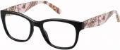 Tommy Hilfiger 1498 Kunststoffbrille, schwarz-gemustert
