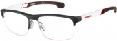 CARRERA eyewear CA 4403/V Tragrandbrille, schwarz-weiß-rot