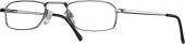START UP basics BI 1112 Lesebrille, Halbbrille, silbern