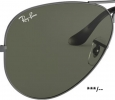 RAY-BAN original Ersatz-Rohbrillengläser Paar zum Einschleifen