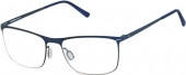 Rodenstock R 2590 Brille, matt dunkelblau
