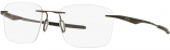 OAKLEY WINGFOLD EVS OX 5115 randlose Titanium Brille graubraun