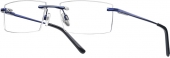START UP premium BI 7934 randlose Brille dunkelblau
