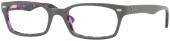 RAY-BAN RB 5150 Kunststoffbrille, grau-lila
