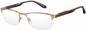 CARRERA eyewear CA 8821, memory metal Tragrandbrille, gold, havanna