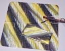 Mikrofasertuch HORN, Brillenputztuch in hornoptik