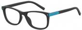 Polaroid Kinderbrille/Jugendbrille D811, Kunststoff, matt schwarz