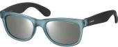 Polaroid P0115 Kindersonnenbrille polarisiert blaugrau