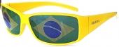 Fußball-Fanbrille - BRASIL, Sidekick Flagglasses