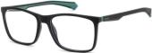 Polaroid PLD D310 Kunststoffbrille matt grau Verlauf