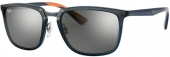 RAY-BAN RB 4303 Sonnenbrille, grau orange