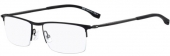 BOSS - Hugo Boss 0940 Tragrandbrille Carbon, matt-schwarz