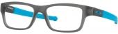 OAKLEY MARSHAL XS OY 8005 Kunststoffbrille, matt grau-türkis