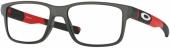 OAKLEY FIELD DAY OY 8007 Kunststoffbrille, matt grau-rot
