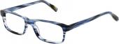AUGENBLICK Brille IRVING blau