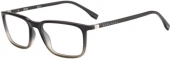 BOSS - Hugo Boss 0962 Kunststoffbrille, transparent dunkelgrau-hellgrau