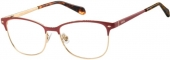 FOSSIL FOS 7034 Brille rot-gold