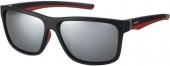 Polaroid Sonnenbrille PLD 7014/S polarized schwarz-rot