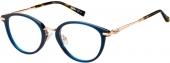 MaxMara MM 1377/F Kunststoffbrille blau-gold