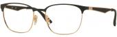 RAY-BAN RB 6356 Brille golden-schwarz