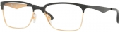RAY-BAN RB 6344 Brille golden-schwarz