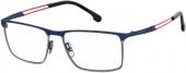 CARRERA CA8831 Titanbrille blau-silbern-rot