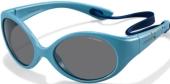 Polaroid PLD 8010/S Kindersonnenbrille Sportbrille polarisiert türkis