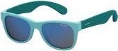 Polaroid P0300 Kindersonnenbrille Sportbrille polarisiert türkis