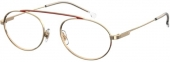 CARRERA 2011T Brille gold-rot