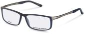 PORSCHE DESIGN P8228 Kunststoff/Titanbrille grau