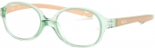 RAY-BAN RB 1587 Babybrille transparent hellgrün