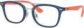 RAY-BAN RB 1585 Jugend Kunststoffbrille blau orange