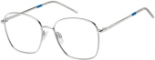 TOMMY HILFIGER TH 1635 oversized Brille silbern