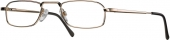 START UP basics BI 1112 Lesebrille Halbbrille golden