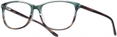 LOOK & FEEL BI 5492 Kunststoffbrille grün-braun