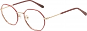 AUGENBLICK Brille CARLA rot gold