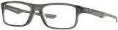 OAKLEY Plank 2.0 OX 8081 Kunststoffbrille transparent grau