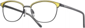 LOOK & FEEL BI 8306 Brille schwarz-gelb